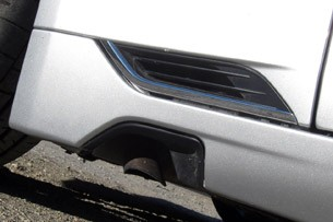 2012 Fisker Karma side exhaust
