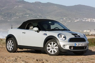 2012 Mini Cooper S Roadster front 3/4 view