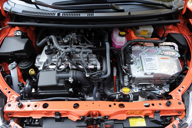 2012 Toyota Prius C engine