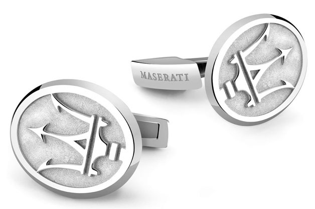 Elegance cufflinks by Damiani for Maserati