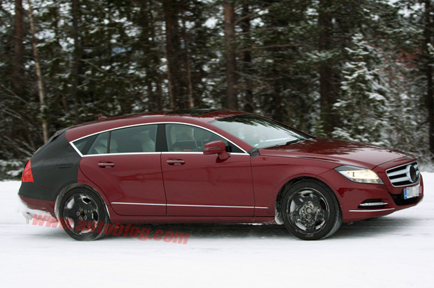 Mercedes-Benz CLS Shooting Brake spy shot