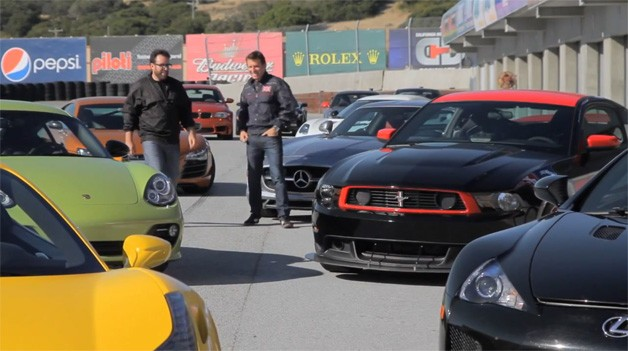 Motor Trend 2011 Best Driver's Car