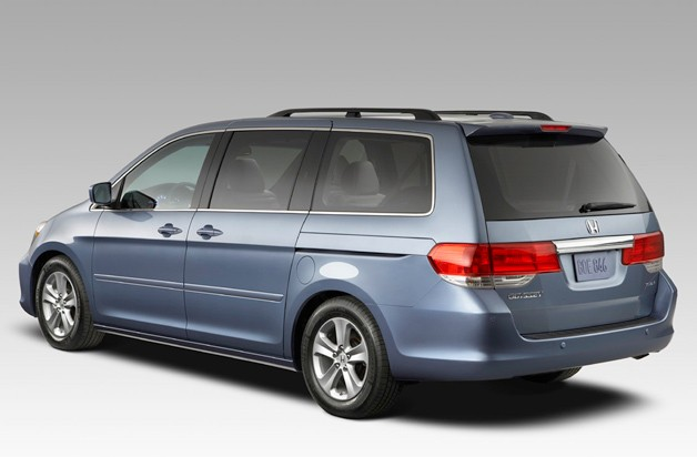 2008 Honda Odyssey minivan - rear three-quarter view