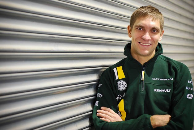 Vitaly Petrov at Caterham