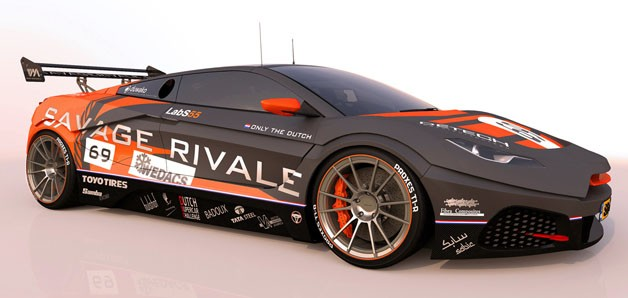 Savage Rivale GTS racer