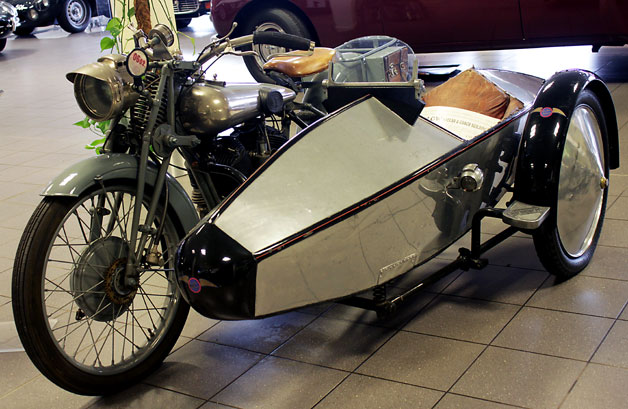 Swallow sidecar