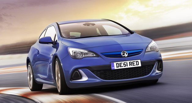 276-hp Vauxhall Astra VXR headed to Geneva