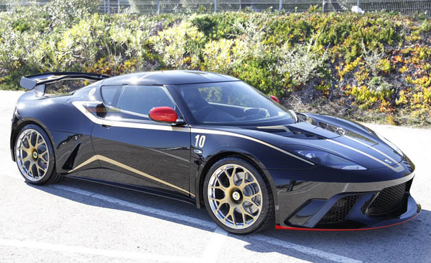 2012 Lotus Evora GTE F1 edition
