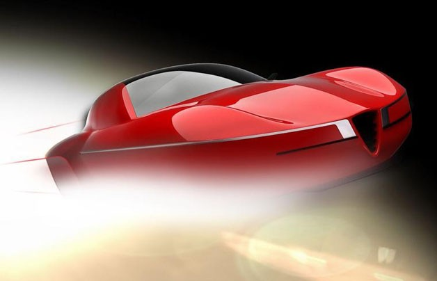 Disco Volante concept teaser from Carrozzeria Touring Superleggera