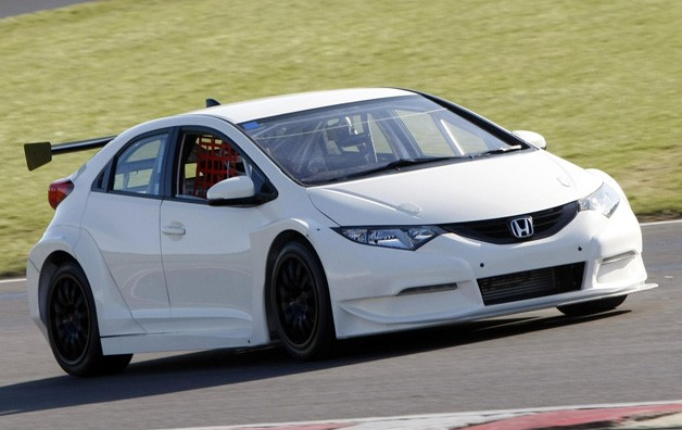 Honda NGTC race car testing