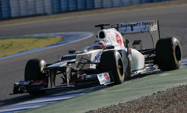 2012 Sauber C31