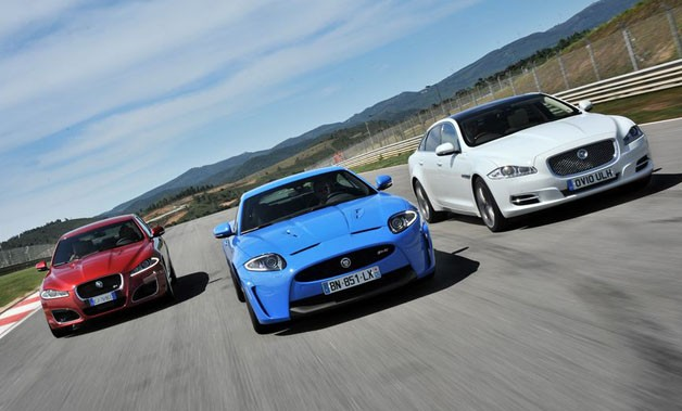 Jaguar XFR, XKR-S and XJ