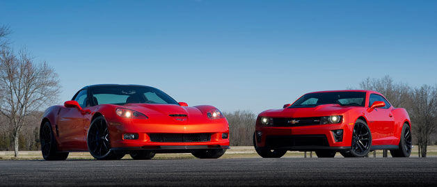 Chevrolet Corvette and Chevrolet Camaro
