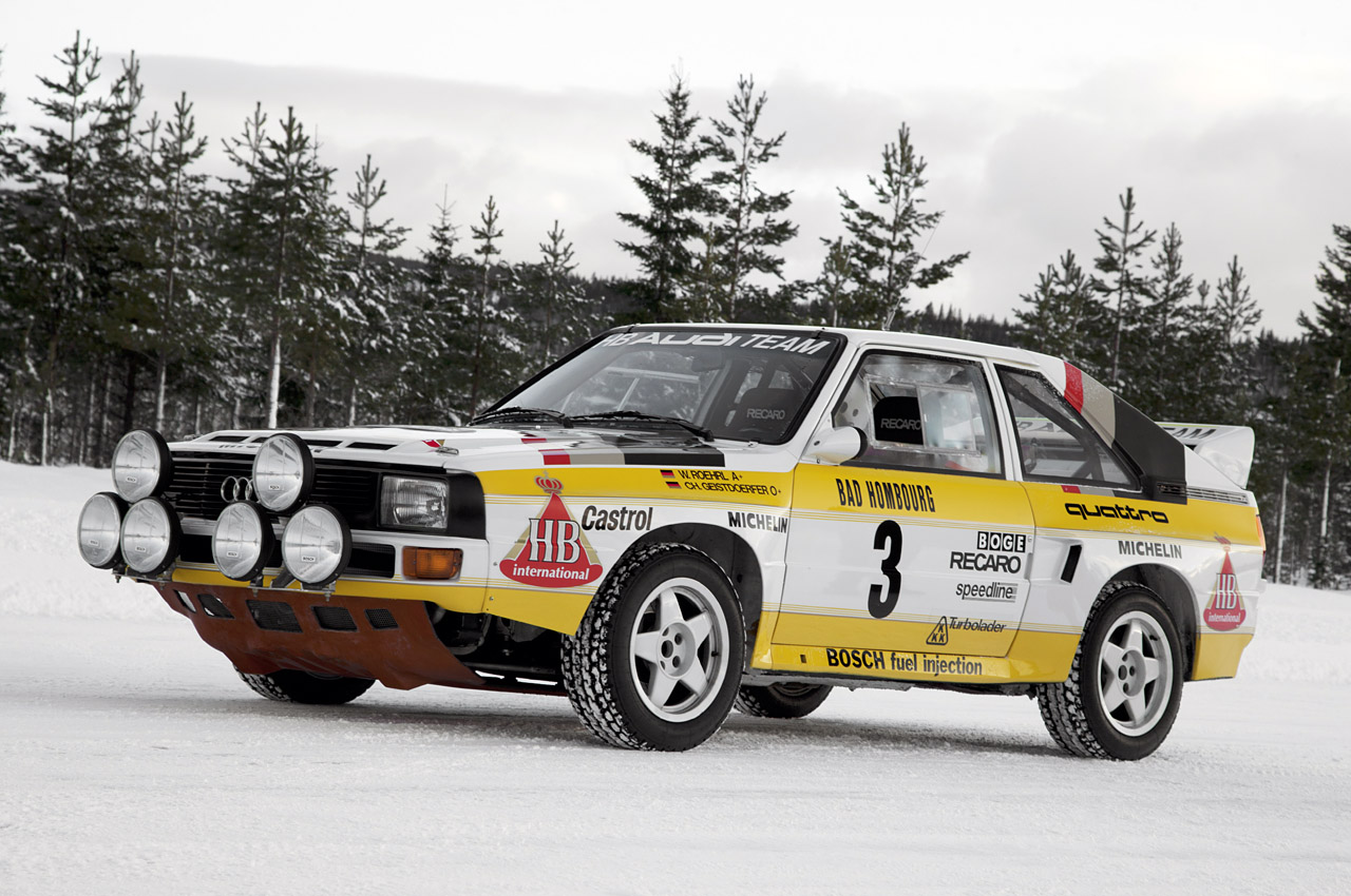 1984 audi sport quattro s1 w video autoblog. Black Bedroom Furniture Sets. Home Design Ideas