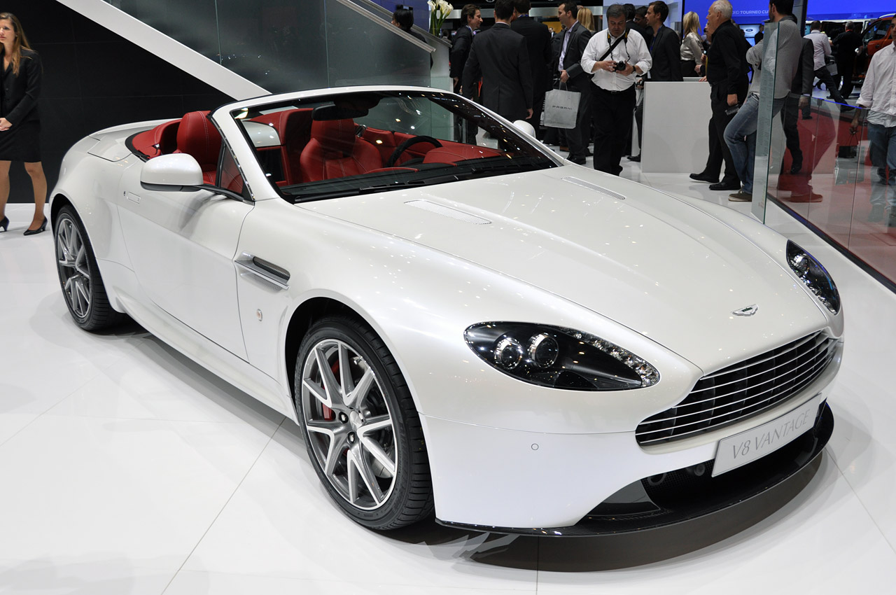 2012 Aston Martin V8 Vantage Emerges With A Slew Of