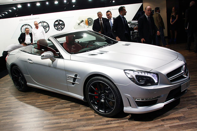2013 Mercedes-Benz SL63 AMG live in Geneva