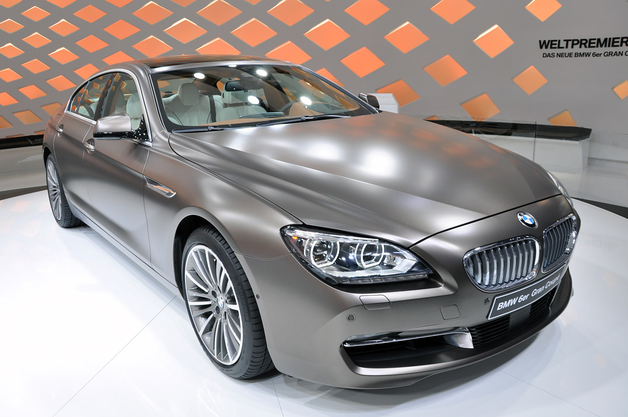 2013 bmw 6 series gran coupe finally shows up autoblog. Black Bedroom Furniture Sets. Home Design Ideas
