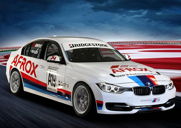BMW of South Africa and ADF's F30-based race car