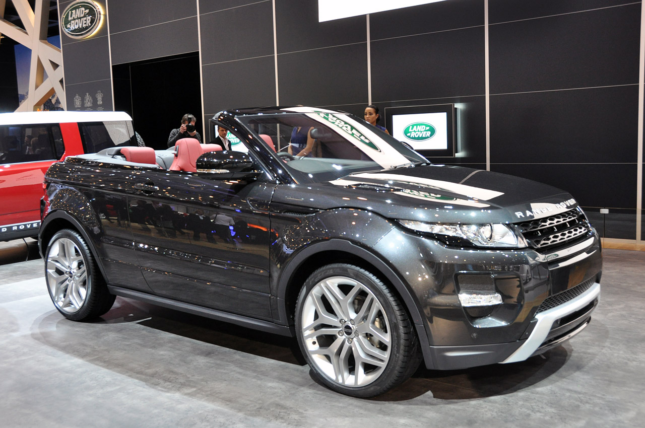 range rover evoque convertible concept geneva 2012 photo gallery autoblog. Black Bedroom Furniture Sets. Home Design Ideas