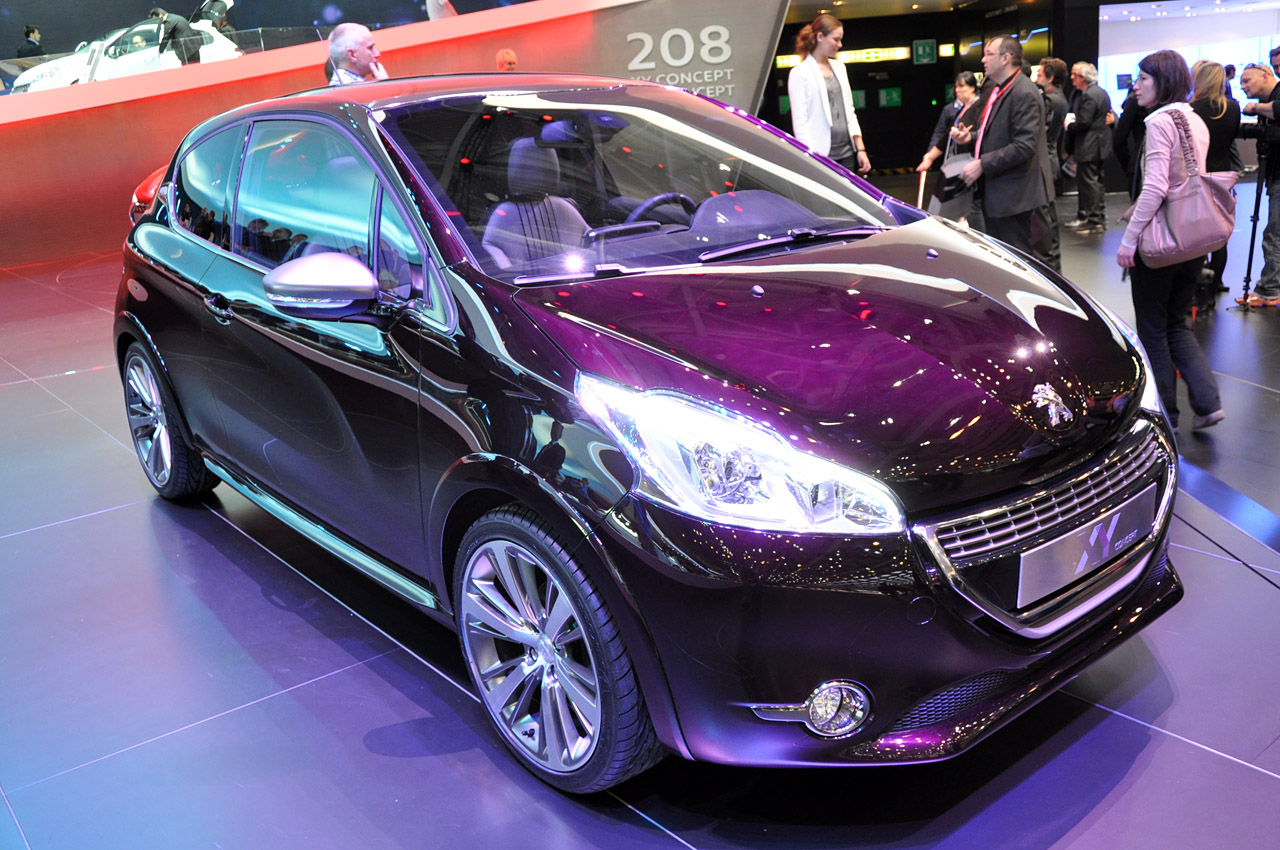 peugeot 208 xy concept geneva 2012 photo gallery autoblog. Black Bedroom Furniture Sets. Home Design Ideas
