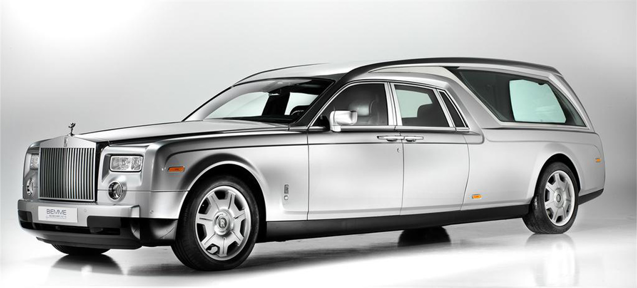 Rolls Royce Phantom Hearse Is A Classy Costly Way To Go Autoblog