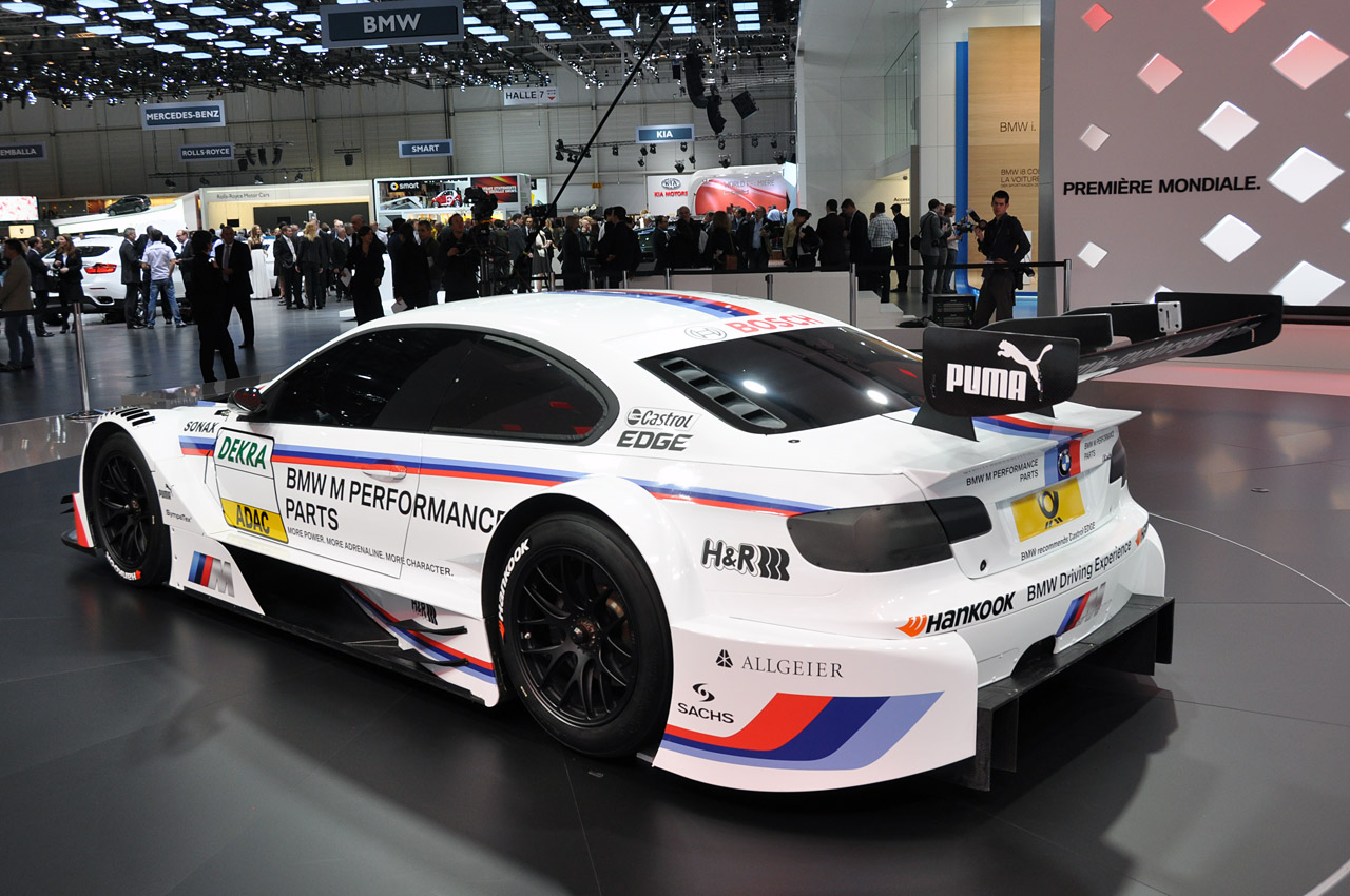 2012 Bmw M3 Dtm Race Car Looks Fast Sitting Still Autoblog