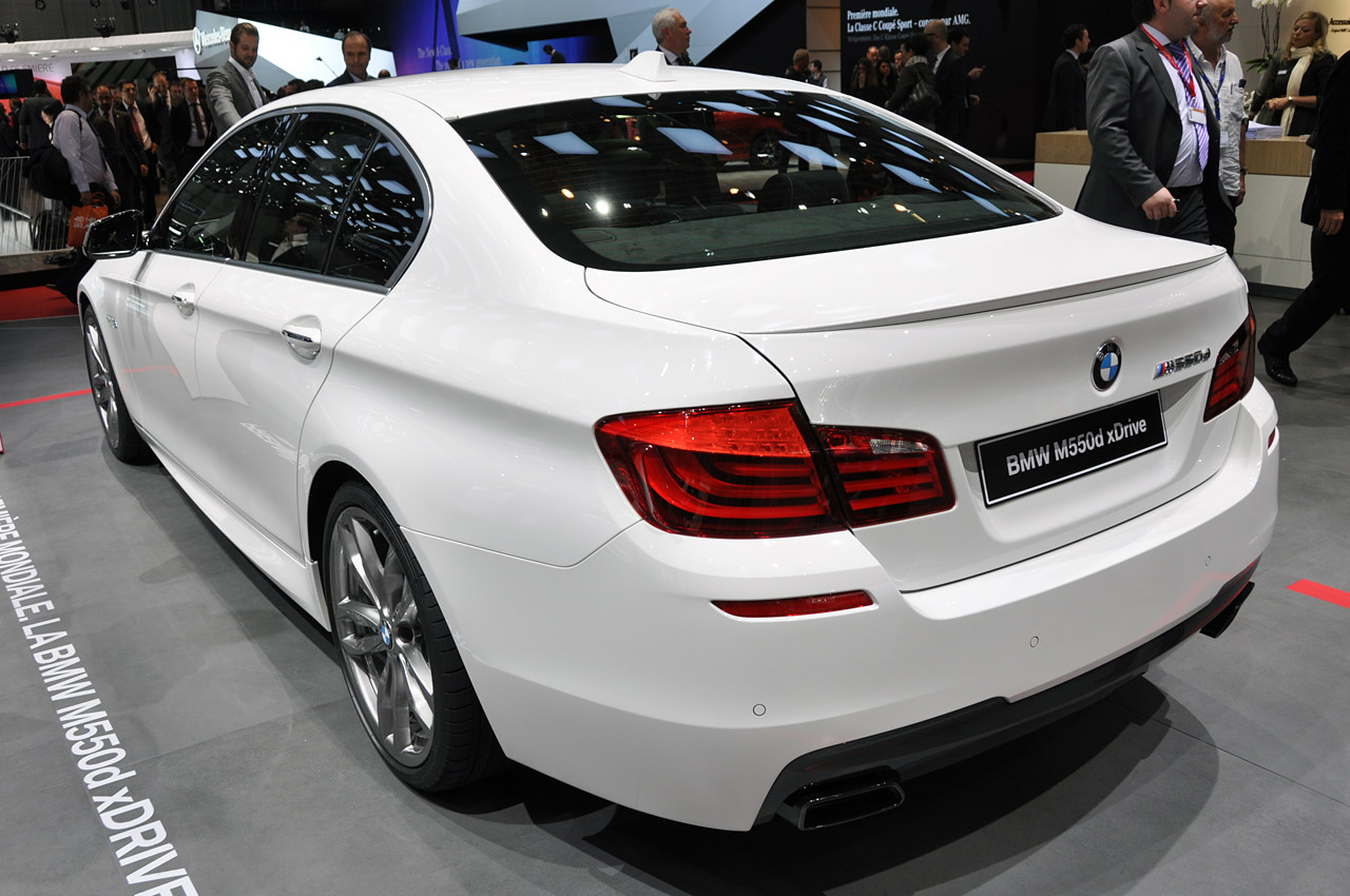 2012 Bmw M550d Xdrive Leaves Us Both Giddy And Quietly