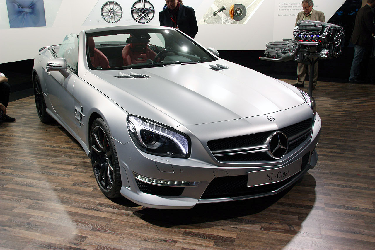 2013 Mercedes-Benz SL63 AMG is big and beastly, not so ...
