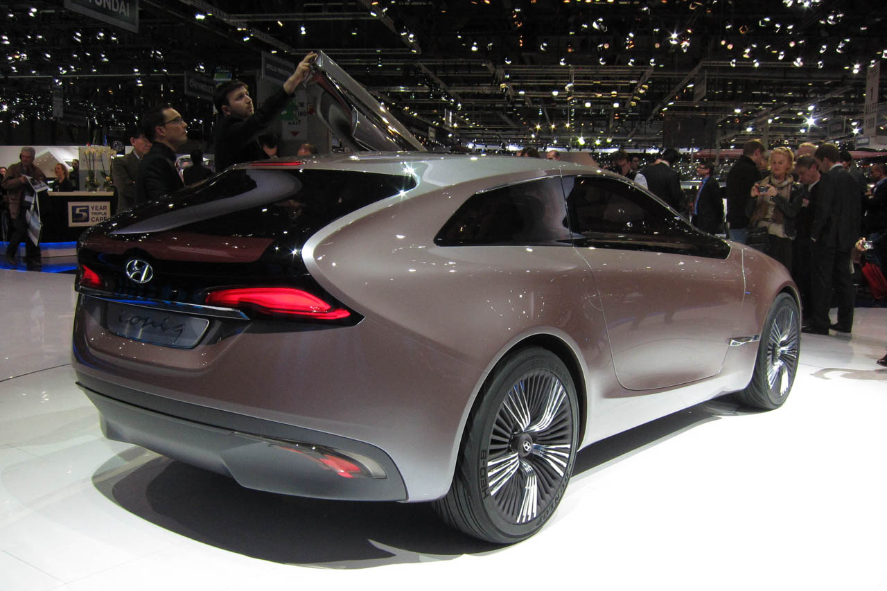 Hyundai Certified Pre-Owned >> Hyundai i-oniq Concept blends series hybrid with shooting brake style - Autoblog