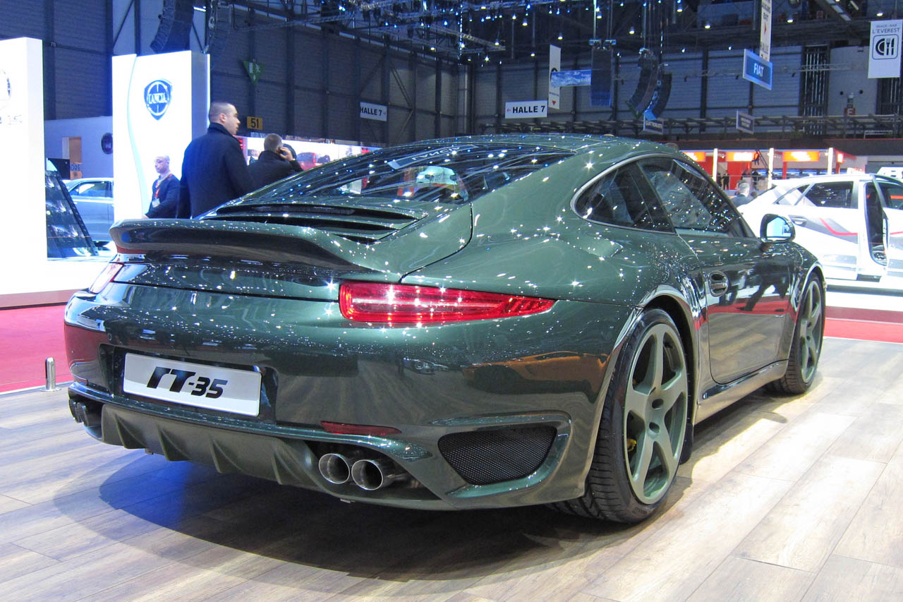 Ruf Gets To Work On The 991 Porsche 911 Reveals New Ctr 3