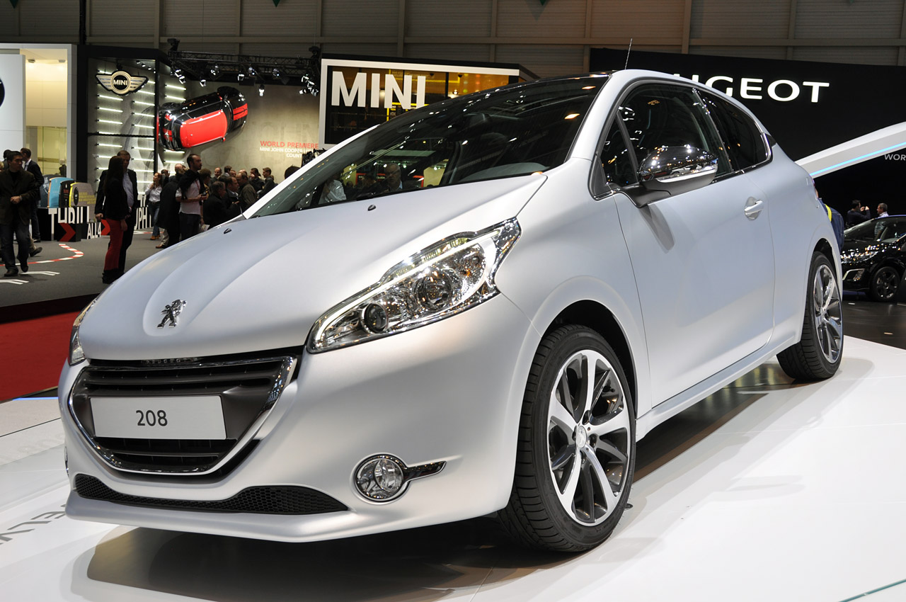 2012 peugeot 208 geneva 2012 photo gallery autoblog. Black Bedroom Furniture Sets. Home Design Ideas