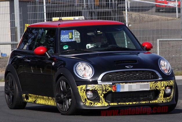 Mini Cooper John Cooper Works GP Spy Shot