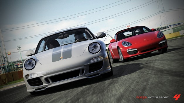 Porsche DLC pack for Forza Motorsport 4