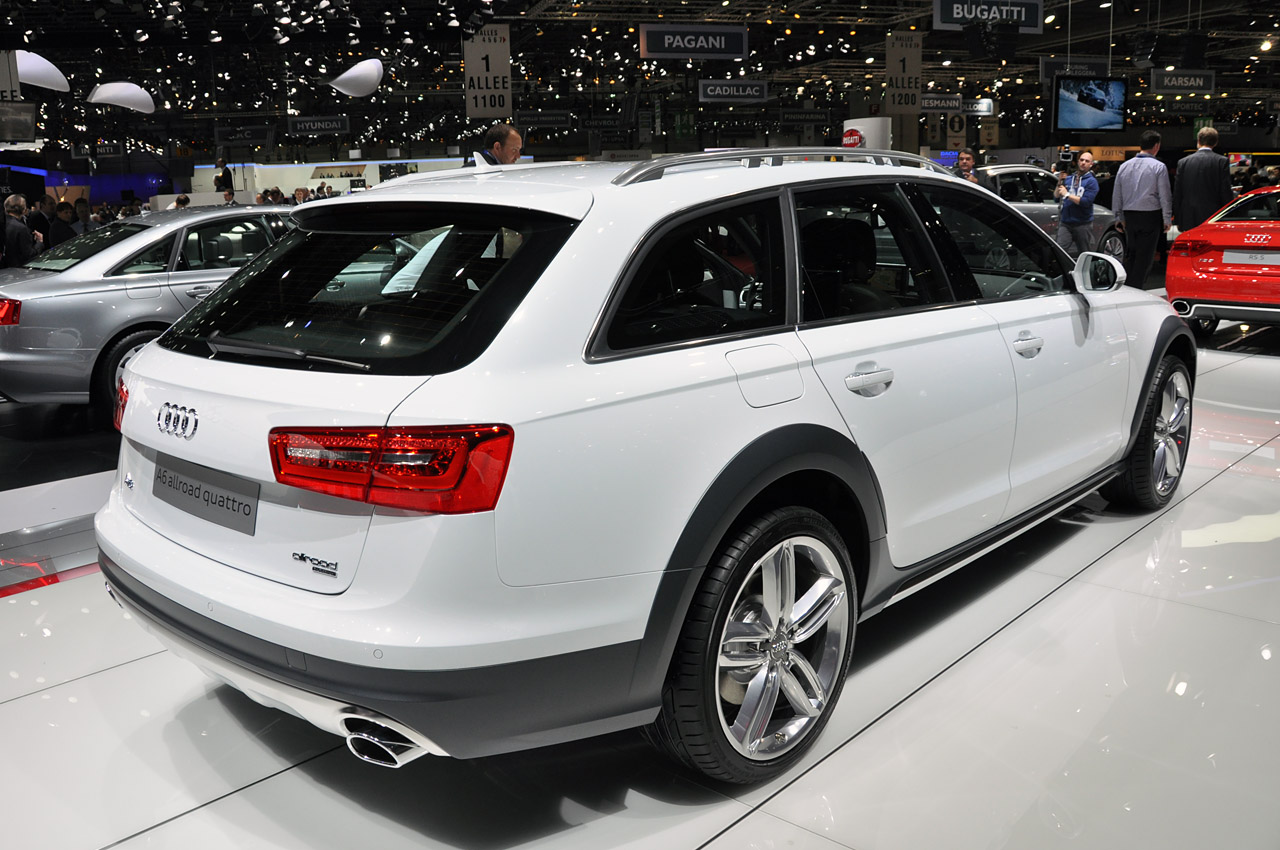 2013 audi a6 allroad evolves the formula autoblog. Black Bedroom Furniture Sets. Home Design Ideas