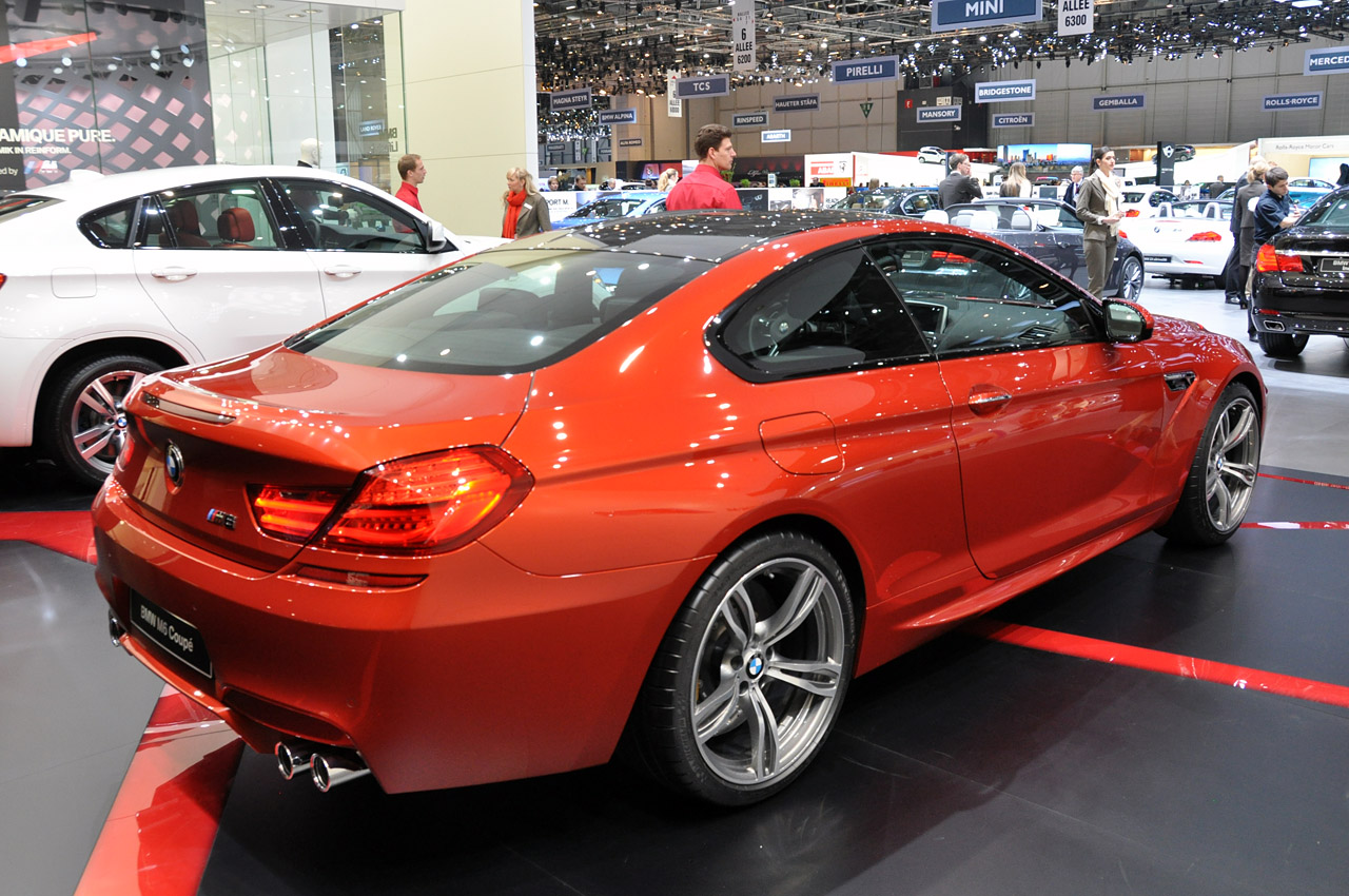 2013 Bmw M6 Brings Big Power To A Big Coupe Autoblog