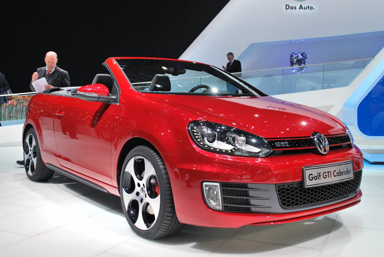 2012 Volkswagen Golf GTI Cabriolet pops its top, just can't stop - Autoblog