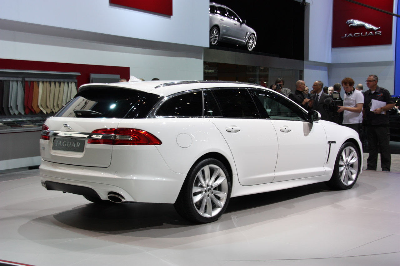 2012 jaguar xf sportbrake geneva 2012 photos photo gallery autoblog. Black Bedroom Furniture Sets. Home Design Ideas