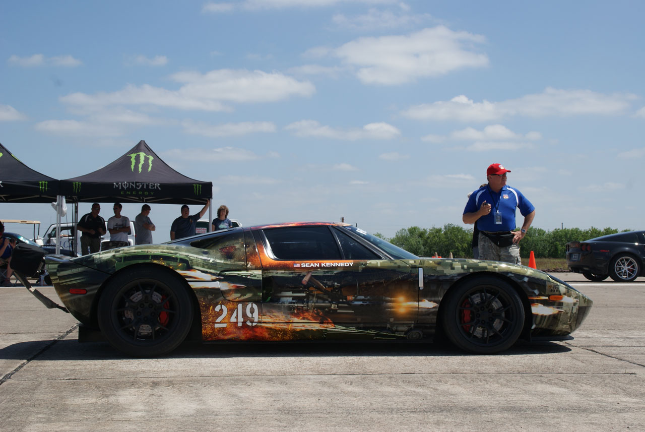 Hennessey Ford Gt Breaks Standing Mile World Record Photo Gallery Autoblog