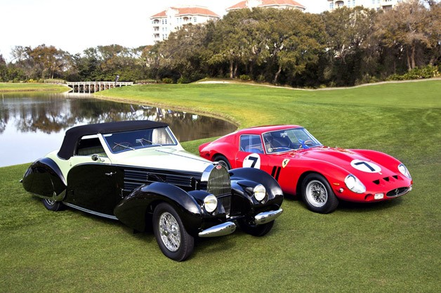 1938 Bugatti Type 57, 1962 Ferrari 330 LM take tip honors during Amelia Island