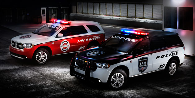 2012 Dodge Durango Special Service models - police and fire vehicles