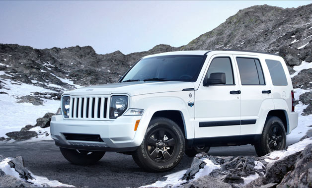 2012 Jeep Liberty Arctic Edition - front three-quarter view