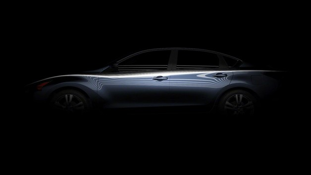 2013 Nissan Altima profile teaser