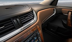 2013 Chevrolet Traverse interior teaser