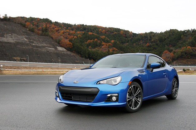 2012 Subaru BRZ - front three-quarter view