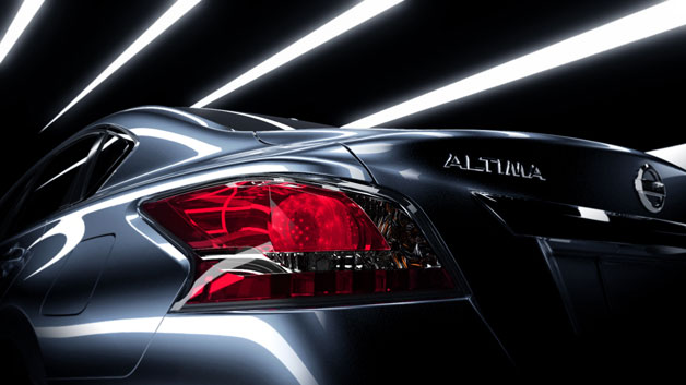 2013 Nissan Altima teaser