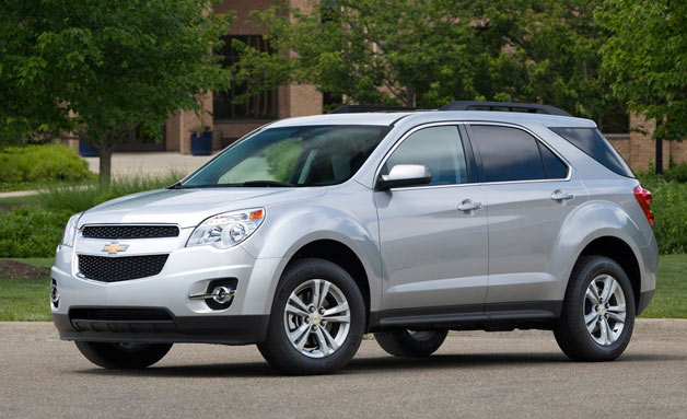 2011 Chevrolet Equinox front three-quarter view