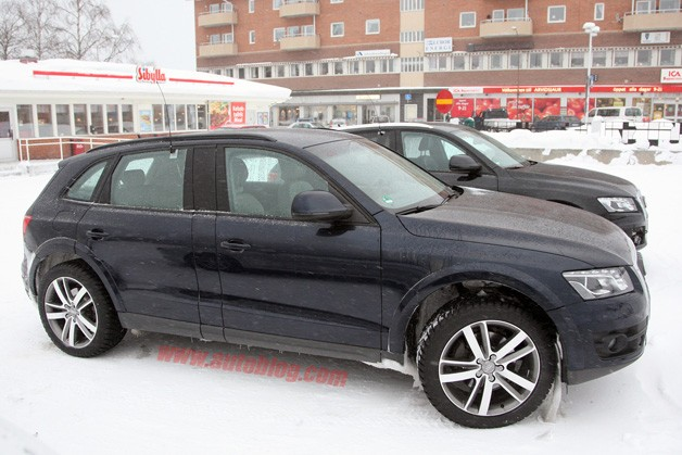 Audi Q6 Spy Photo