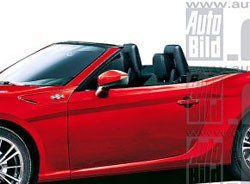 Auto Bild Toyota GT-86 convertible rendering (cropped)
