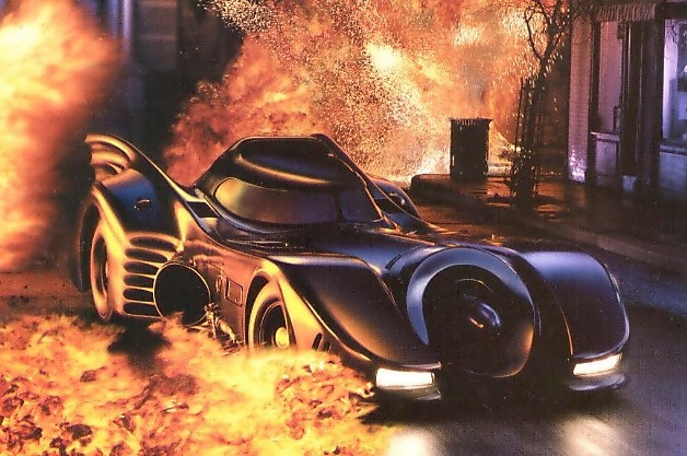 Batmobile explosion