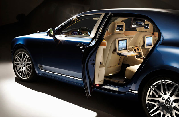 bentleyipadspec Bentley putting Executive Interior concept into production on Mulsanne